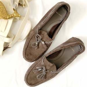 Cole Haan suede driving moccasins sz 8